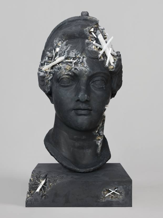 One of the busts in the collection, which will be showcased at Perrotin, Paris