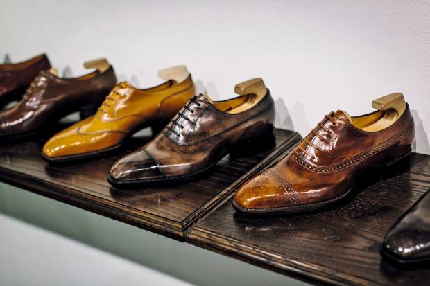 Fukuda's bespoke calfskin shoes cost from about £3,400; made-to‑order from £1,900; and ready-to-wear from £1,700