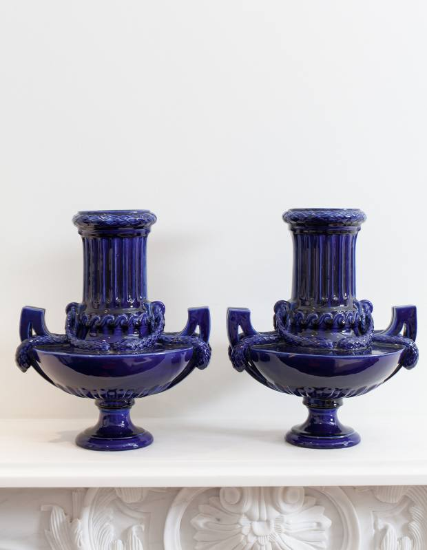 Emilia Wickstead's Sunbury Antiques Market vases