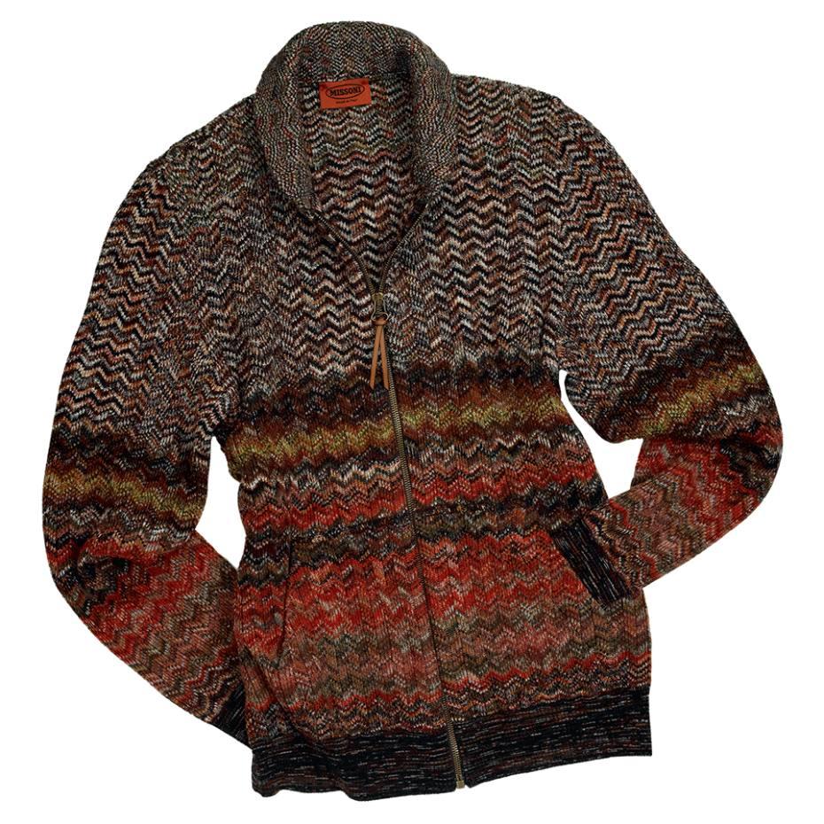 6ab59f02fac6 Missoni men s bomber jacket