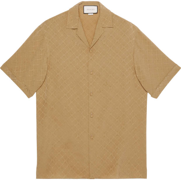 Gucci silk shirt, £750