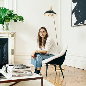 Louise Trotter at home in Paris
