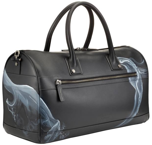 Gladstone London leather G9 duffel bag in Smoke, £850