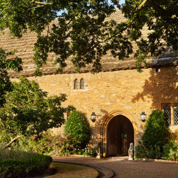 Bailiffscourt was built in the 1920s as a paean to medievalism