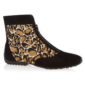Barbara Hulanicki for French Sole suede and leather Gabi Boxing boot, £195