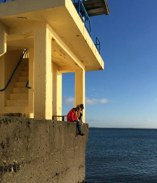 Jo's photograph of Blackrock Diving Tower, County Galway