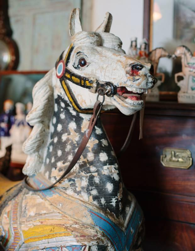 Carousel horse, £2,000
