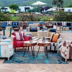 The terrace at Casa Maca will set the scene for the Amorevore festival