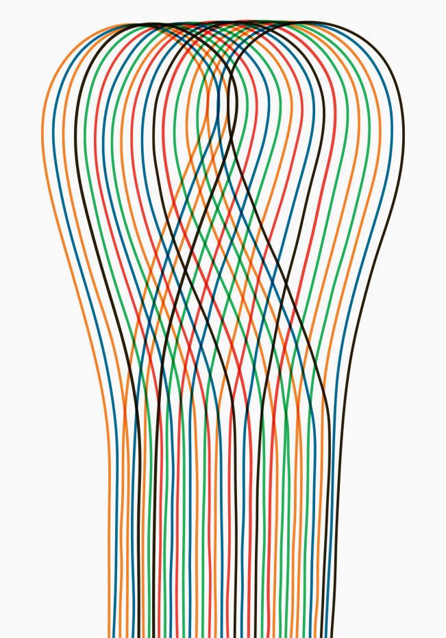 Loop 01 by French designer Pierre Charpin, edition of 50, £365 unframed
