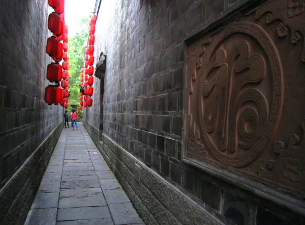 A traditional alley in Chengdu's old town