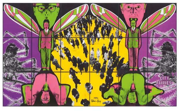 Gilbert & George, City Fairies (1991), estimated £120,000 to £180,000