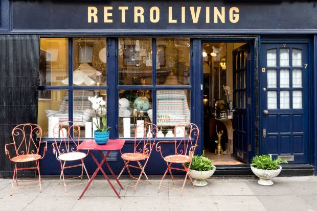 Retro Living specialises in vintage pieces