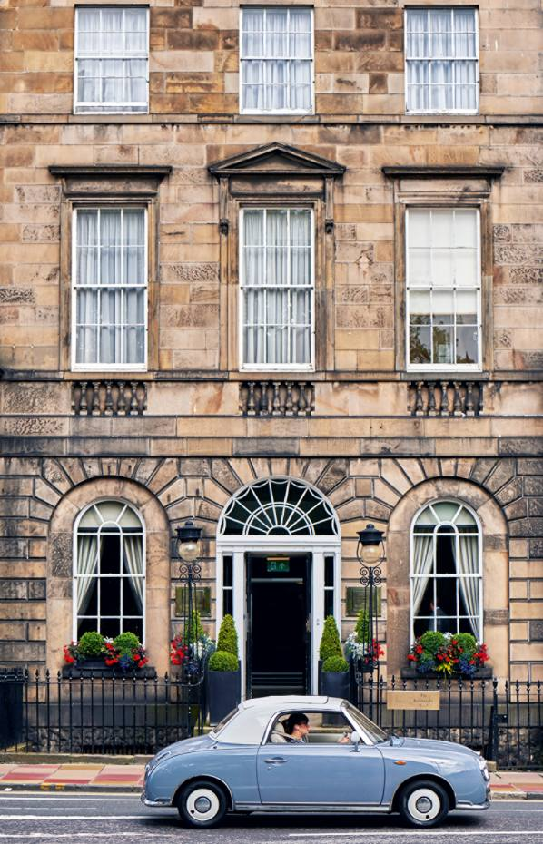 The Principal Edinburgh Charlotte Square is the grand old Roxburghe reborn
