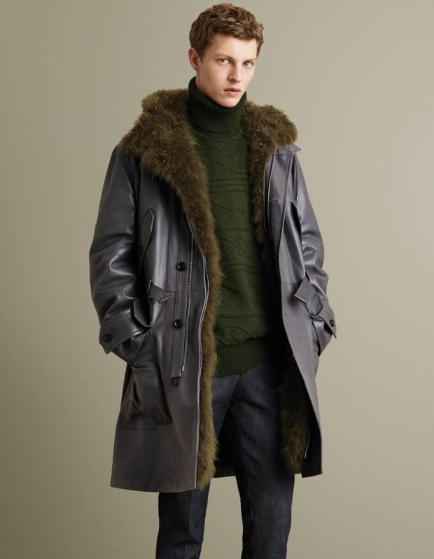 Bally calf-nappa-shearling coat, £10,500