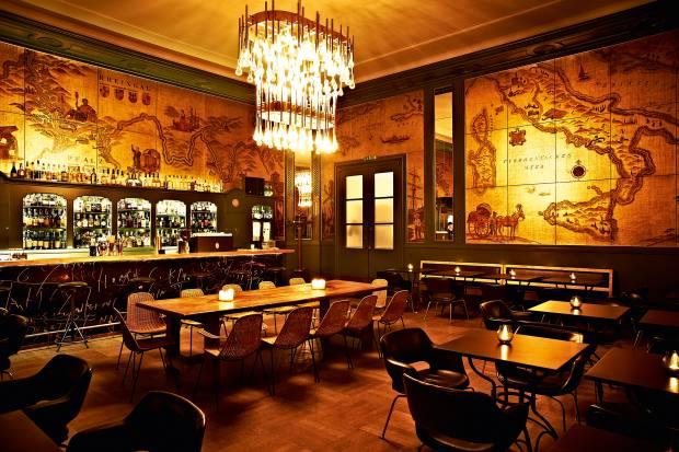 Goldene Bar at Haus der Kunst in Munich