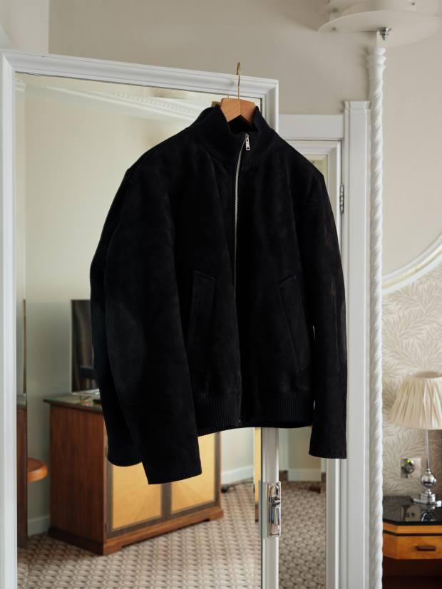 Humm's Prada suede jacket