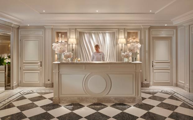 Pierre-Yves Rochon designed the luxurious interiors