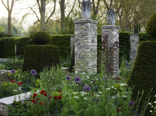 Cleve West's Best in Show garden at the 2012 Chelsea Flower Show