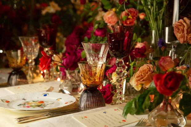 Saint-Louis crystal has featured prominently at many a glamorous evening event at the St Regis New York since it opened in 1904