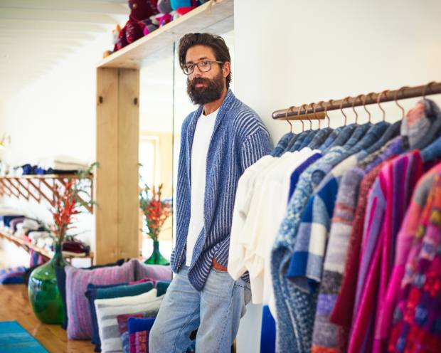 LA designer Greg Chait of The Elder Statesman