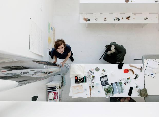 Artist Kate Newby presented Fogo Island Inn's inaugural exhibition last year