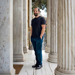 Michael Anastassiades at the Cyprus Museum