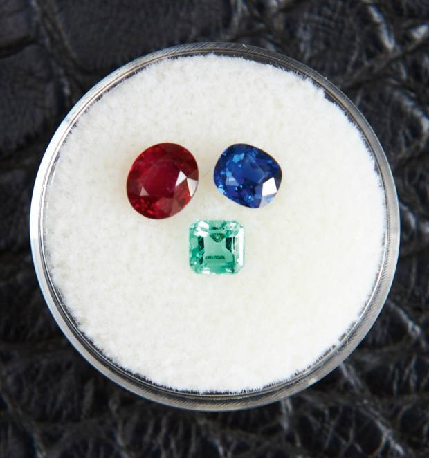 Gemstone gifts for Choi's daughters