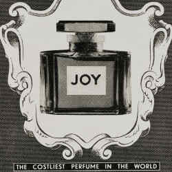 Dior Joy, £54 for 30ml EDP, which shares its name with a Jean Patou classic, shown here in a c1950s advert