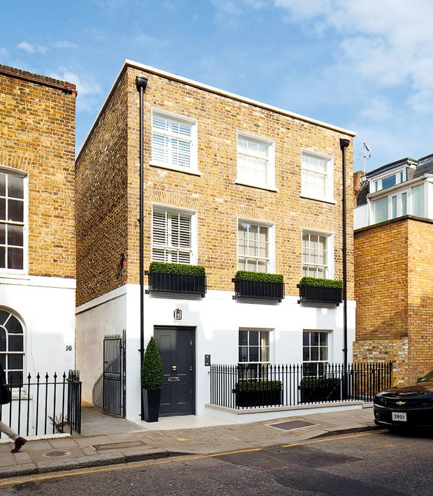A four-bedroom house on St Luke's Street, £9.85m through Knight Frank and Russell Simpson