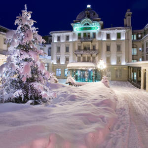 Grand Hotel Kronenhof in nearby Pontresina will be one of the gourmet dinner venues