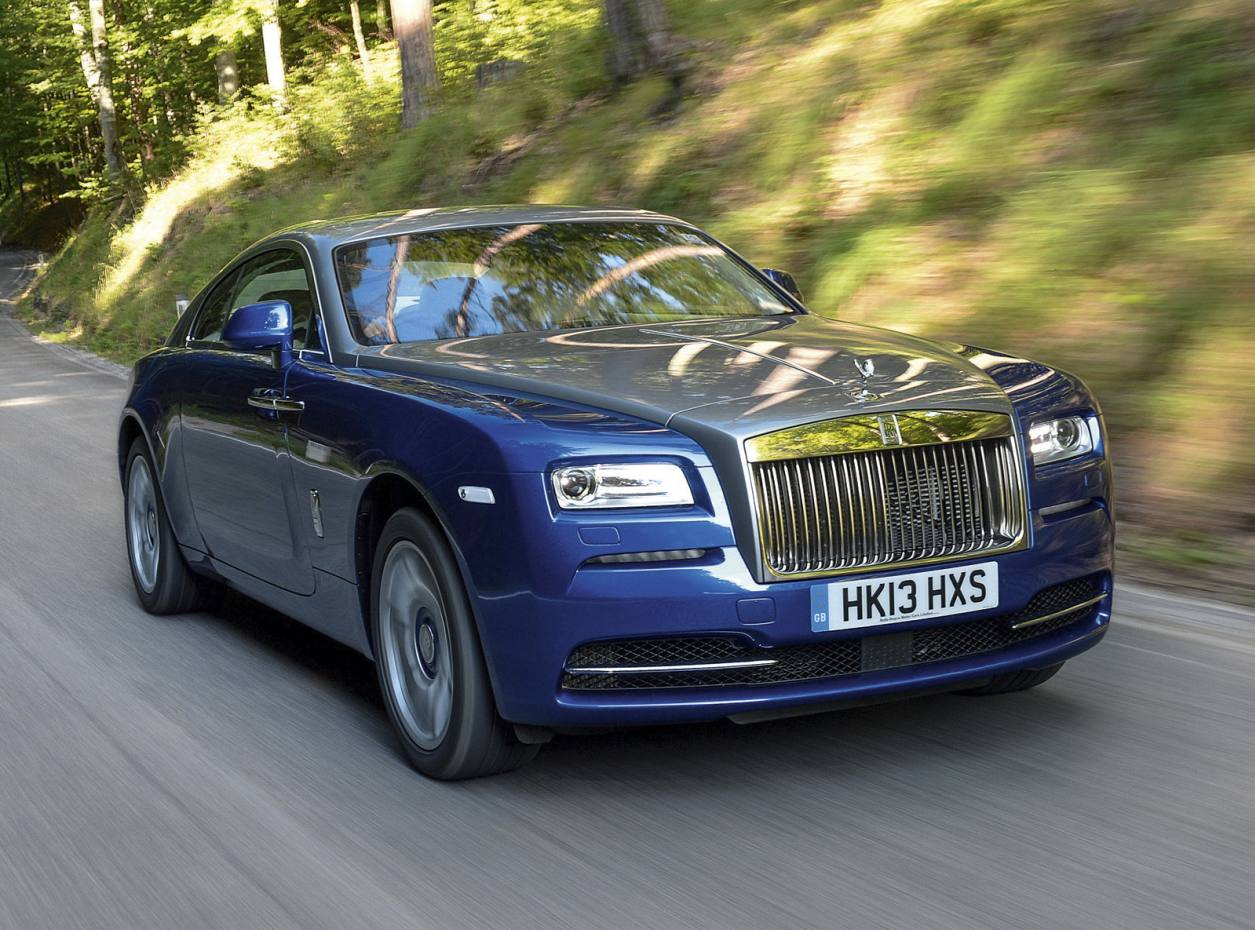 The Rolls-Royce Wraith, from £235,000