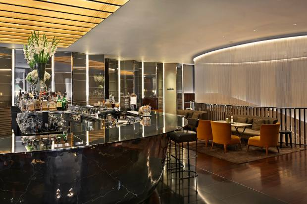 II Bar at The Bulgari Hotel London's cocktail list includes a section that is not just alcohol-free but also sugar-free