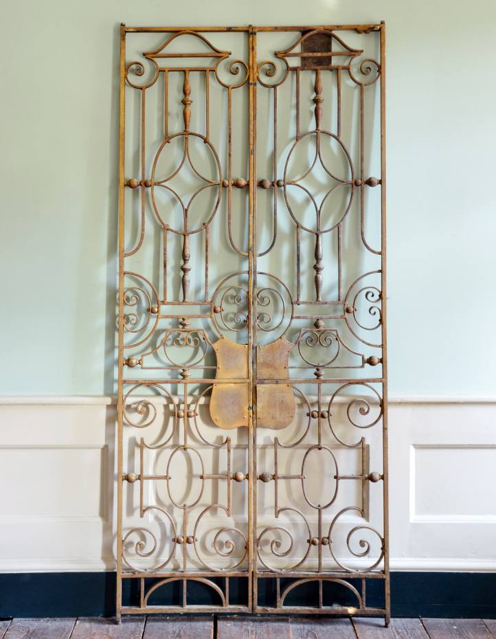 c1928 Strand Palace Hotel iron gates, £1,500 from Lassco