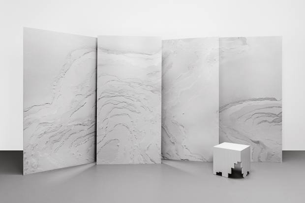 Snarkitecture for Calico Topographies, $344 per sq m