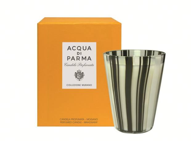 An Acqua di Parma Murano Mahogany candle (£100, from Harrods)