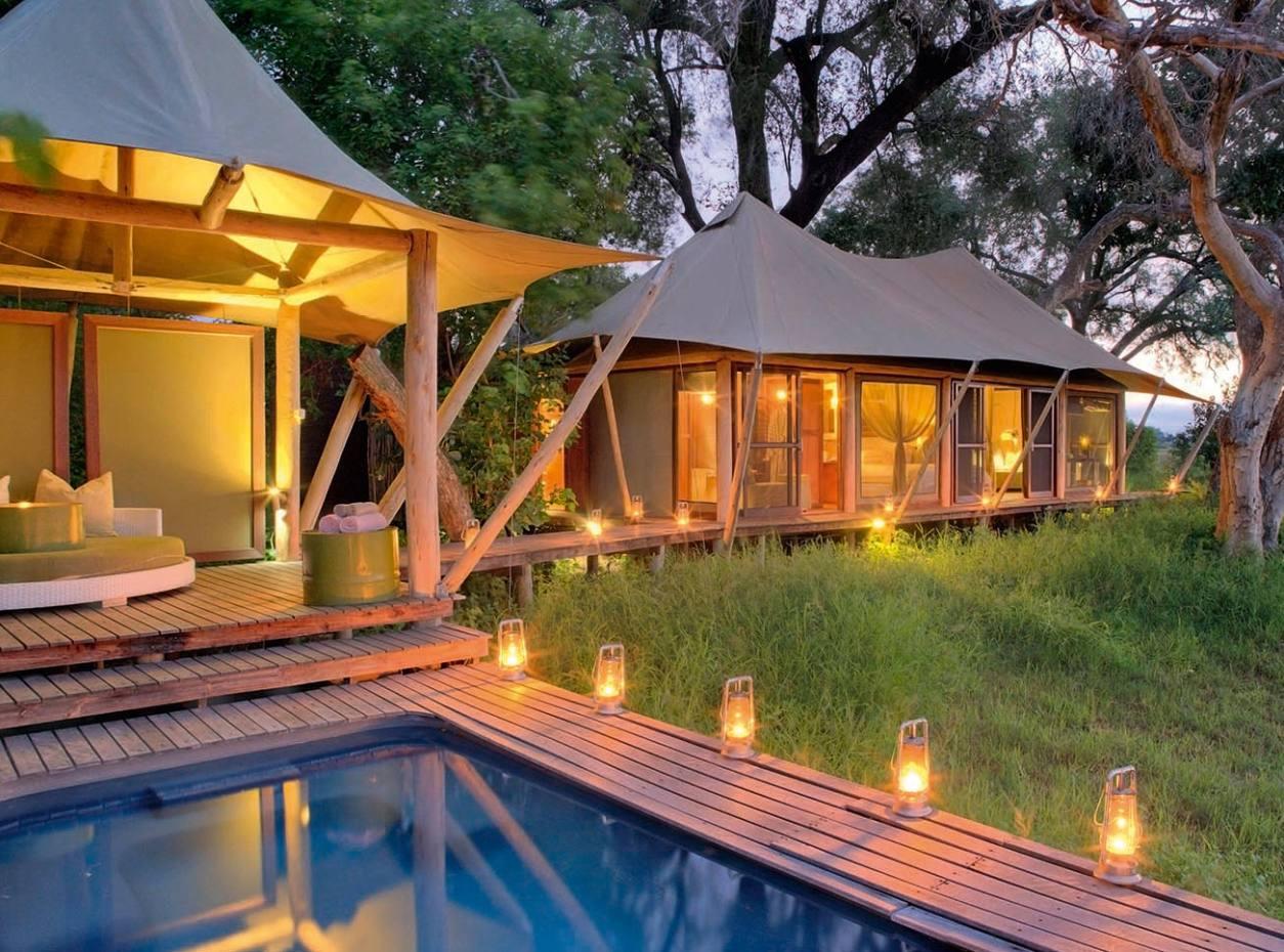 &Beyond Xaranna Okavango Delta Camp swimming pool
