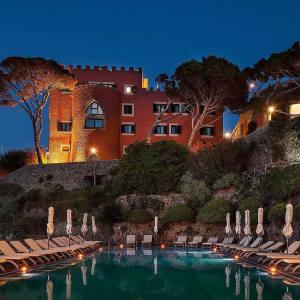 The redesigned IlMezzatorre Hotel on Ischia