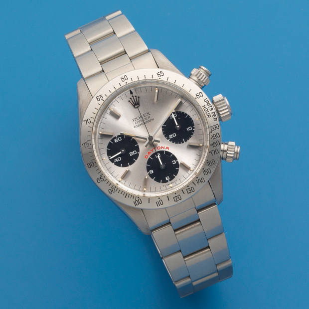 "Rolex Cosmograph ""Big"" Daytona, estimate £30,000 to £40,000"
