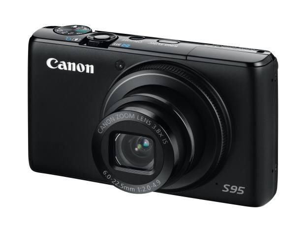 Canon PowerShot S95 camera, £399.