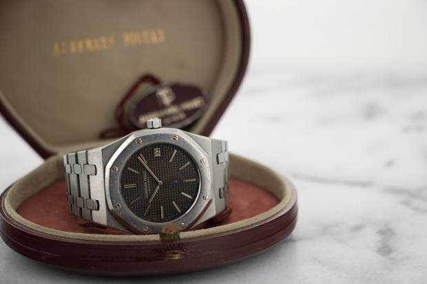 "Audemars Piguet late-1970s ""First Series"" Royal Oak, $45,000"
