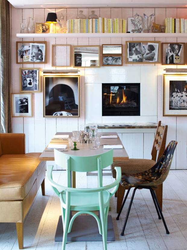 The Philippe Starck-designed Ma Cocotte restaurant