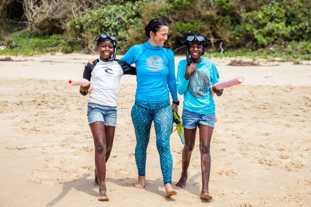 I Am Water focuses on raising awareness of the need for ocean conservation