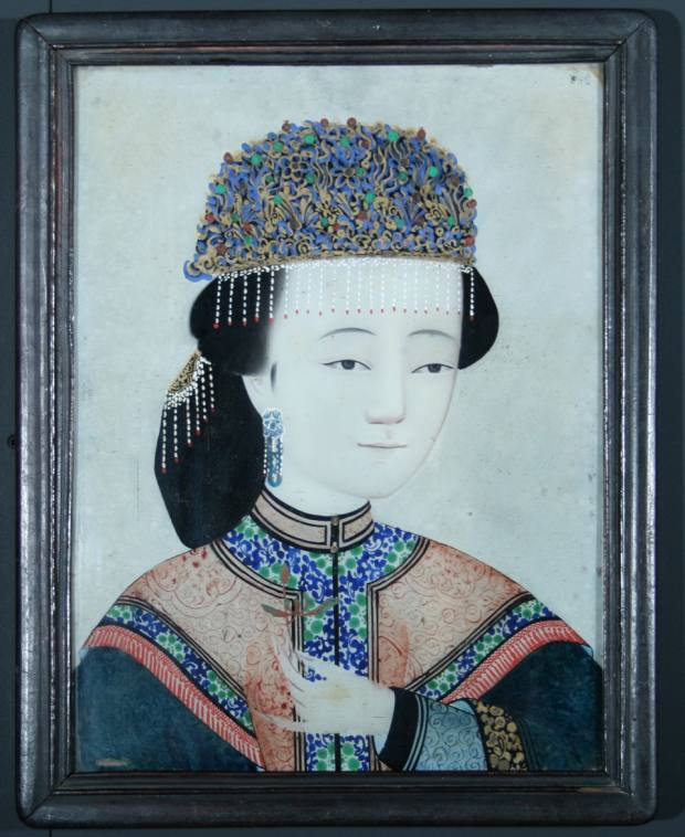 The Chinese ancestor painting that the author spotted on Instagram