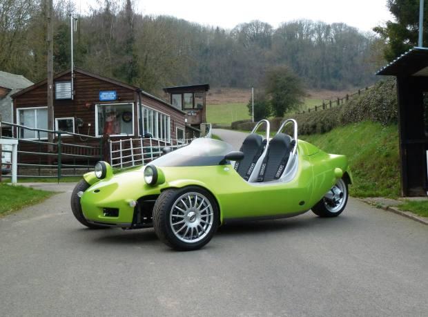 The latest version of the Grinnall Scorpion III, around £20,000