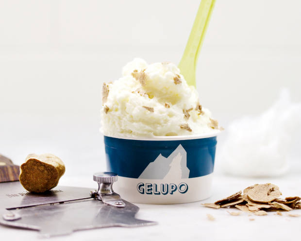 Truffle ricotta gelato, from £4, at London delicatessen Gelupo