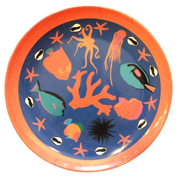 A melamine plate from Foresta G