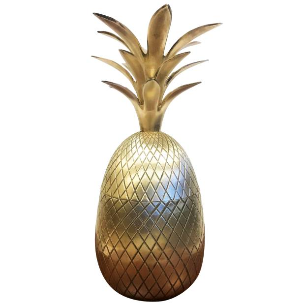 1960s Hollywood Regency brass Pineapple Ice Bucket,  £1,011, from 1stdibs.com