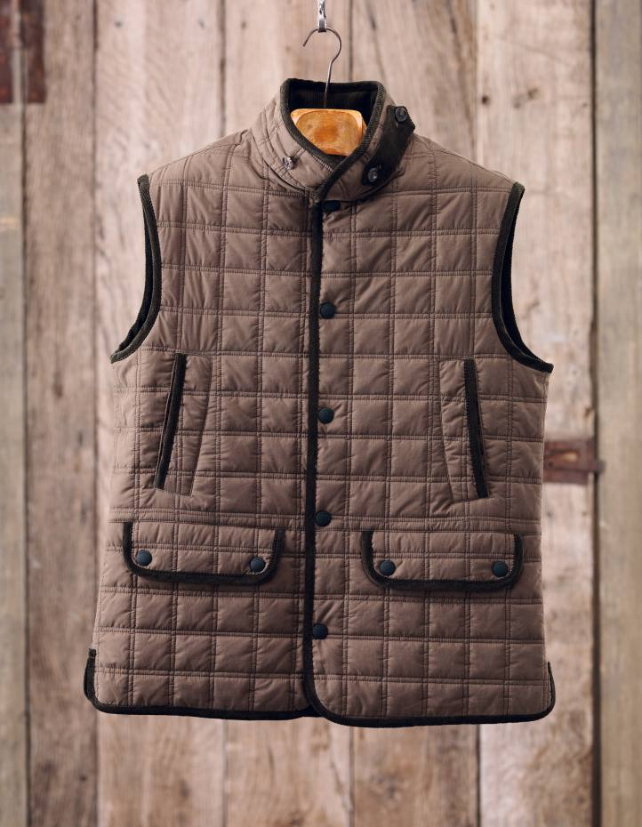 Gilet with robust Kevlar lining, £425