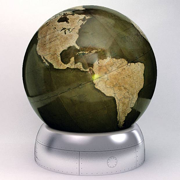 The 127cm-diameter Churchill globe, series of 40, from £25,000.