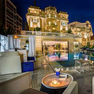 The Hotel Metropole in Monte Carlo